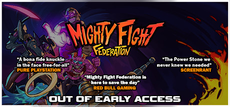 Mighty Fight Federation Cover Image