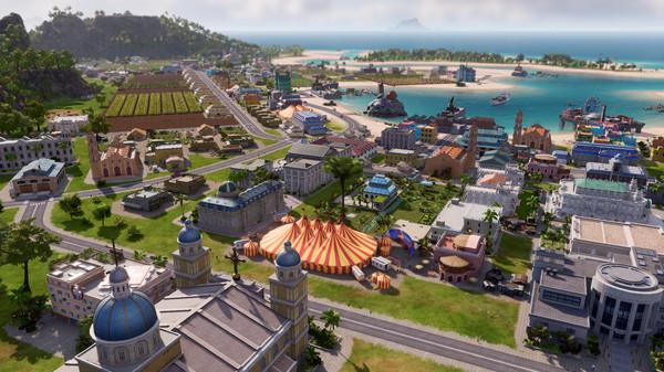 Скриншот №1 к Tropico 6 - The Llama of Wall Street