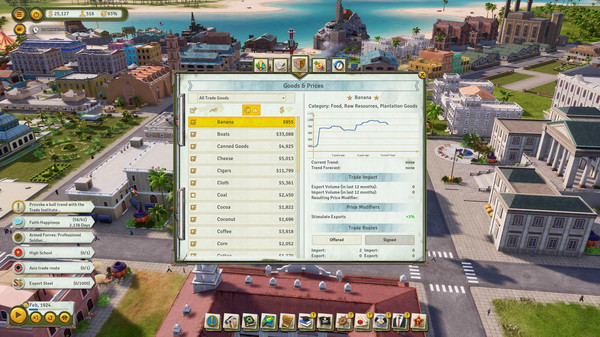 Скриншот №6 к Tropico 6 - The Llama of Wall Street