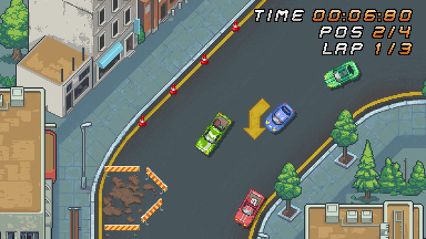Super Arcade Racing screenshot