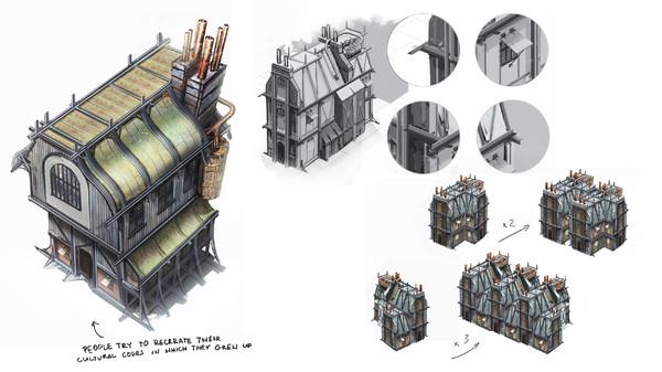 Скриншот №2 к Frostpunk Digital Artbook