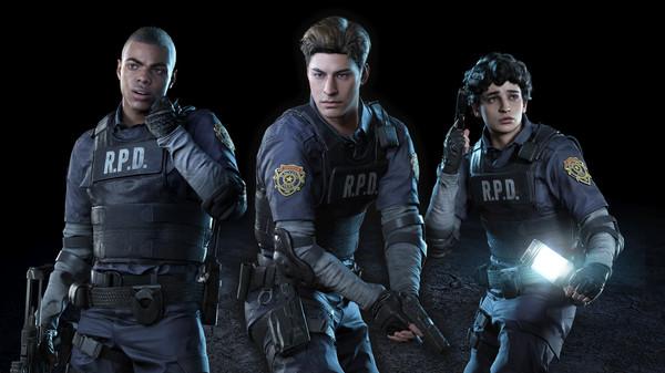 Скриншот №1 к Resident Evil Resistance - Мужской костюм выжившего Леон С. Кеннеди
