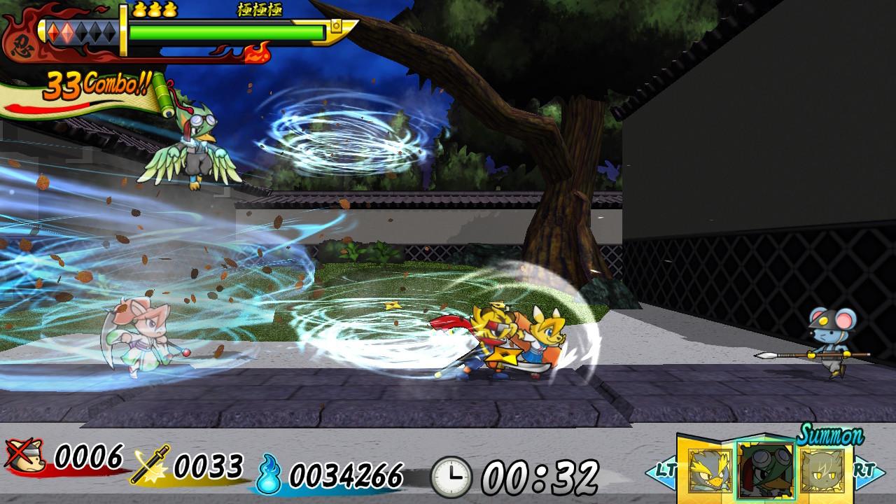 Shinobi Spirits S Legend of Heroes / 忍スピリッツS 真田獣勇士伝