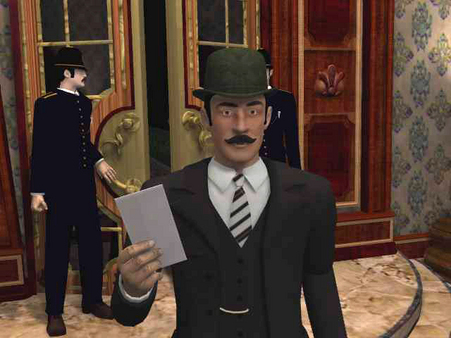 Sherlock Holmes: The Mystery of the Mummy скриншот
