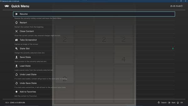 Скриншот №2 к RetroArch