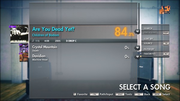 """Скриншот №1 к Rocksmith® 2014 Edition – Remastered – Children of Bodom - """"Are You Dead Yet?"""""""