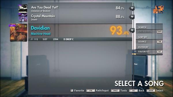 "Скриншот №1 к Rocksmith® 2014 Edition – Remastered – Machine Head - ""Davidian"""