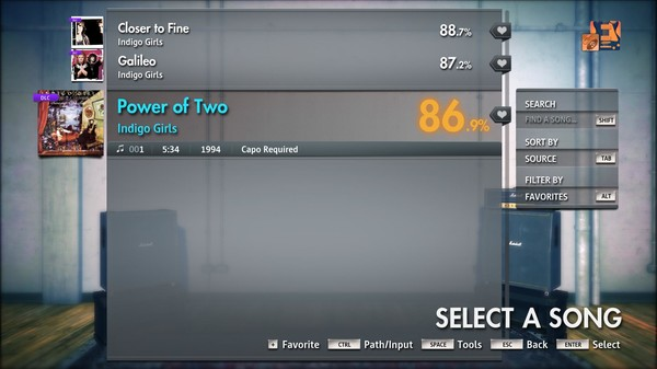 "Скриншот №1 к Rocksmith® 2014 Edition – Remastered – Indigo Girls - ""Power of Two"""