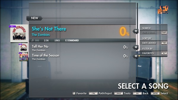 """Скриншот №3 к Rocksmith® 2014 Edition – Remastered – The Zombies - """"Shes Not There"""""""
