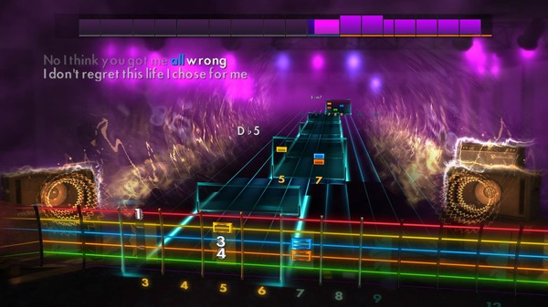 Скриншот №2 к Rocksmith® 2014 Edition – Remastered – Daughtry Song Pack