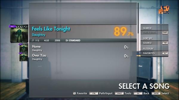 "Скриншот №2 к Rocksmith® 2014 Edition – Remastered – Daughtry - ""Feels Like Tonight"""