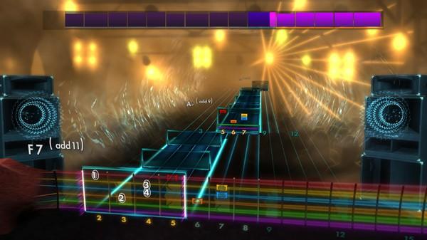 "Скриншот №1 к Rocksmith® 2014 Edition – Remastered – Daughtry - ""Over You"""