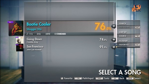 "Скриншот №2 к Rocksmith® 2014 Edition – Remastered – Shuggie Otis - ""Bootie Cooler"""