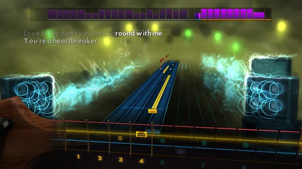 "Скриншот №1 к Rocksmith® 2014 Edition – Remastered – Pat Benatar - ""Heartbreaker"""
