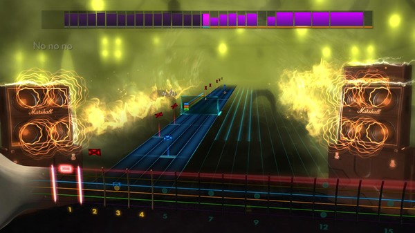 "Скриншот №4 к Rocksmith® 2014 Edition – Remastered – Pat Benatar - ""Heartbreaker"""