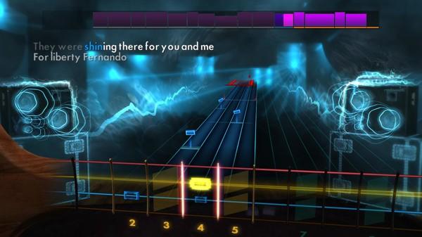 "Скриншот №4 к Rocksmith® 2014 Edition – Remastered – ABBA - ""Fernando"""