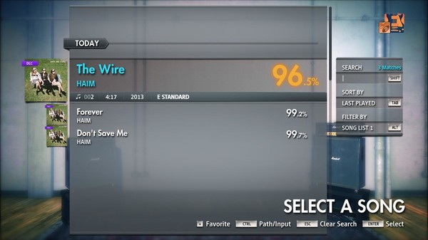 "Скриншот №3 к Rocksmith® 2014 Edition – Remastered – HAIM - ""The Wire"""