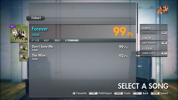 "Скриншот №3 к Rocksmith® 2014 Edition – Remastered – HAIM - ""Forever"""