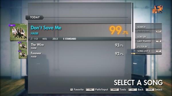 "Скриншот №2 к Rocksmith® 2014 Edition – Remastered – HAIM - ""Dont Save Me"""