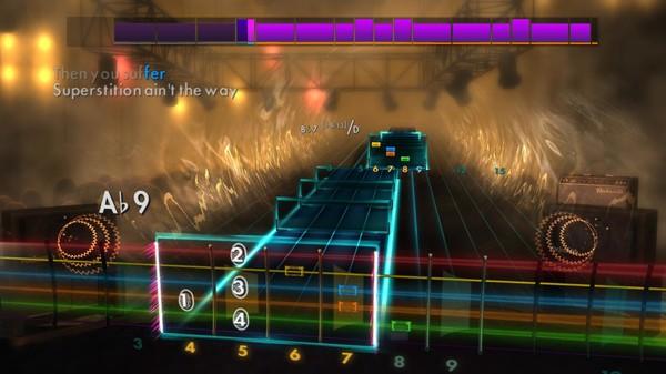 Скриншот №4 к Rocksmith® 2014 Edition – Remastered – Stevie Wonder Song Pack