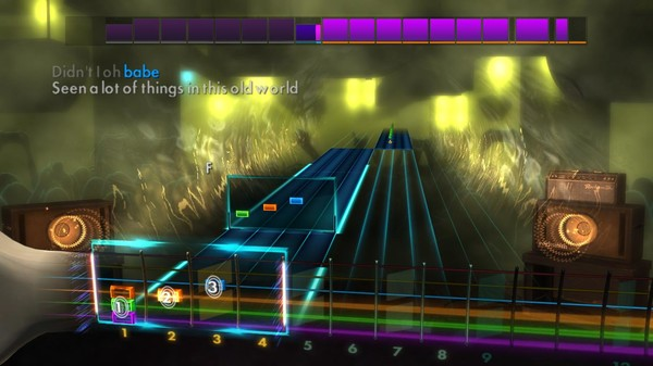 "Скриншот №1 к Rocksmith® 2014 Edition – Remastered – Stevie Wonder - ""Signed Sealed Delivered Im Yours"""