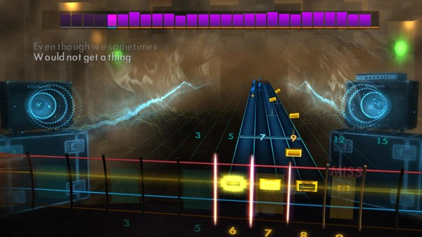 "Скриншот №4 к Rocksmith® 2014 Edition – Remastered – Stevie Wonder - ""I Wish"""