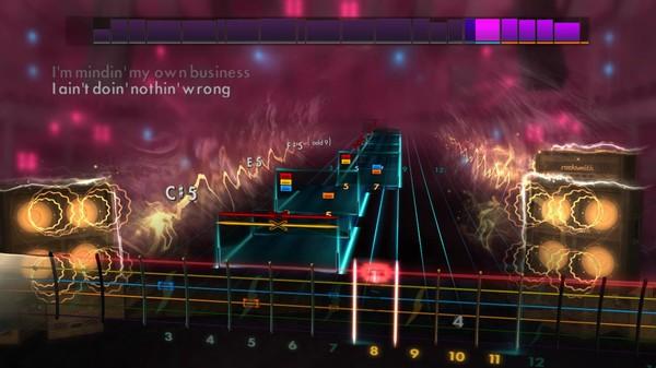 """Скриншот №1 к Rocksmith® 2014 Edition – Remastered – Sevendust - """"Black"""""""