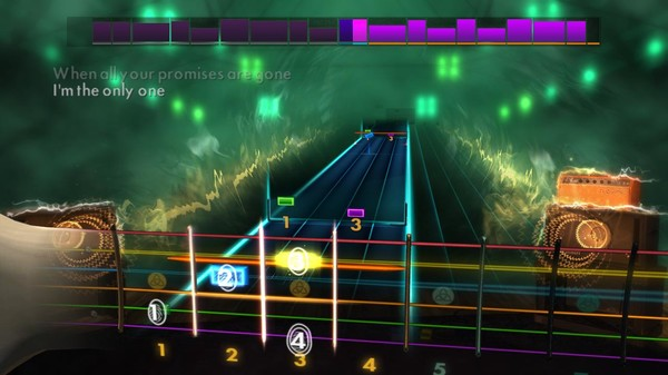 "Скриншот №2 к Rocksmith® 2014 Edition – Remastered – Melissa Etheridge - ""Im the Only One"""
