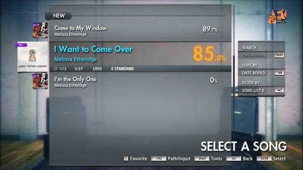 "Скриншот №4 к Rocksmith® 2014 Edition – Remastered – Melissa Etheridge - ""I Want to Come Over"""