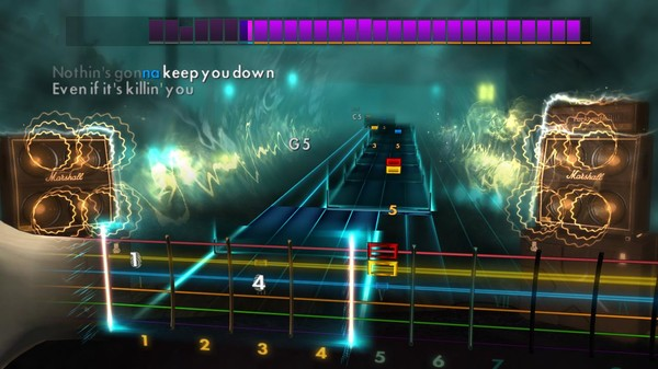 Скриншот №4 к Rocksmith® 2014 Edition – Remastered – SixxA.M. Song Pack
