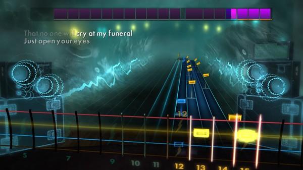 """Скриншот №4 к Rocksmith® 2014 Edition – Remastered – SixxA.M. - """"Life Is Beautiful"""""""