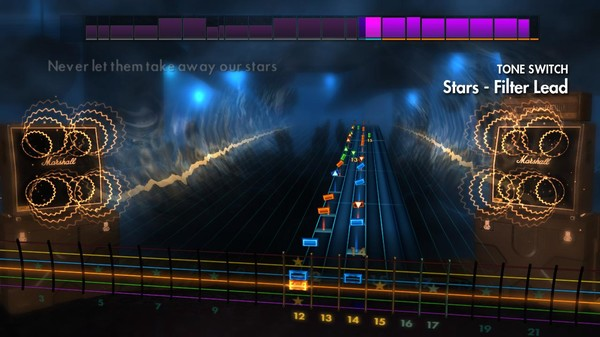 "Скриншот №1 к Rocksmith® 2014 Edition – Remastered – SixxA.M. - ""Stars"""