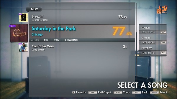 "Скриншот №5 к Rocksmith® 2014 Edition – Remastered – Chicago - ""Saturday in the Park"""