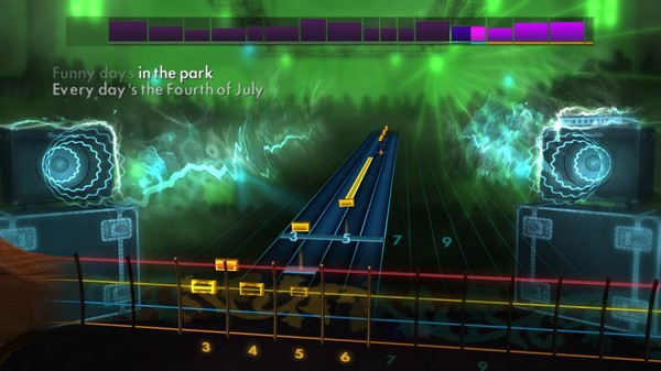 "Скриншот №4 к Rocksmith® 2014 Edition – Remastered – Chicago - ""Saturday in the Park"""