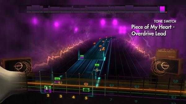 Скриншот №2 к Rocksmith® 2014 Edition – Remastered – Janis Joplin Song Pack