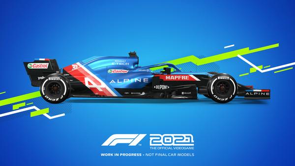 Screenshot of F1 2021