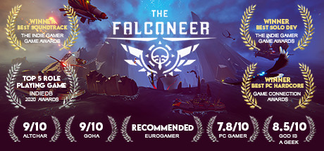 The Falconeer Cover Image