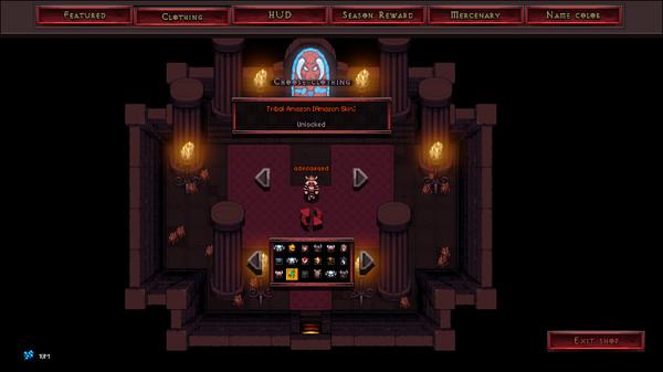 Скриншот №1 к Hero Siege - Tribal Amazon Skin