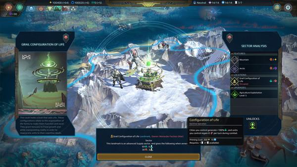 Скриншот №2 к Age of Wonders Planetfall - Star Kings