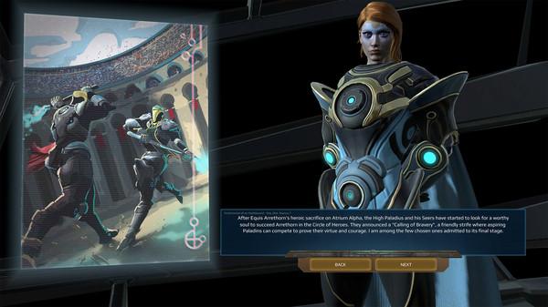 Скриншот №1 к Age of Wonders Planetfall - Star Kings