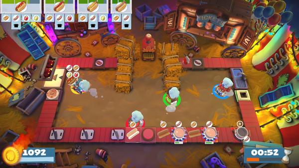 Скриншот №3 к Overcooked! 2 - Carnival of Chaos