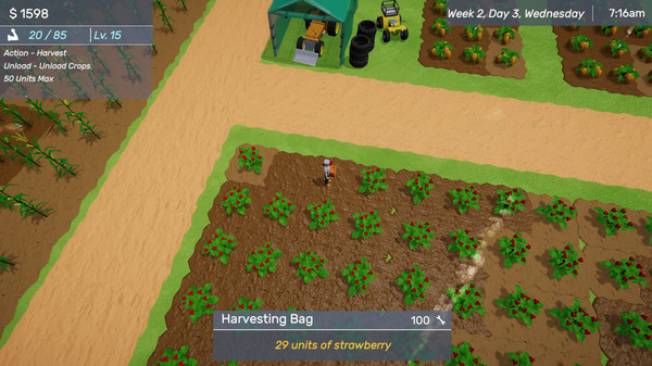 Screenshot of Farmington County