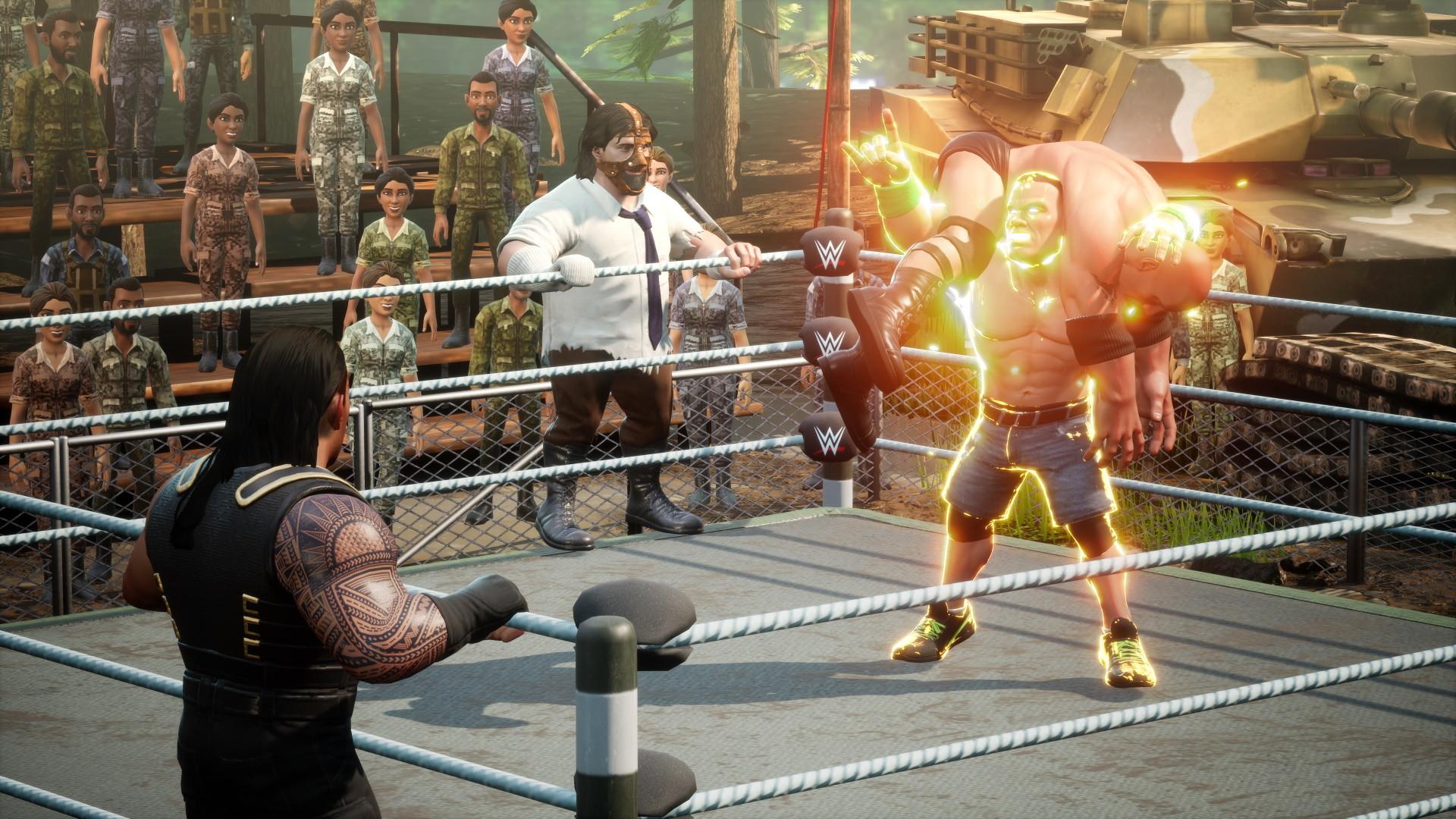 Save 60% on WWE 2K BATTLEGROUNDS on Steam