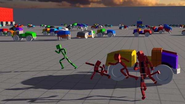 Screenshot of Fun with Ragdolls: The Game