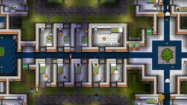 Скриншот №1 к Prison Architect - Psych Ward Wardens Edition