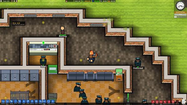 Скриншот №9 к Prison Architect - Psych Ward Wardens Edition