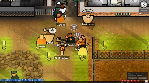 Скриншот №7 к Prison Architect - Psych Ward Wardens Edition