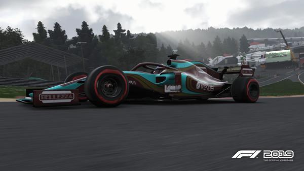 Скриншот №1 к F1 2019 Car Livery VENUS - Luxury