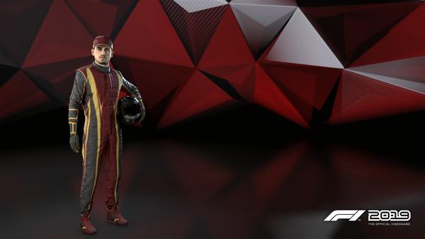 Скриншот №1 к F1 2019 Suit Molten Iron