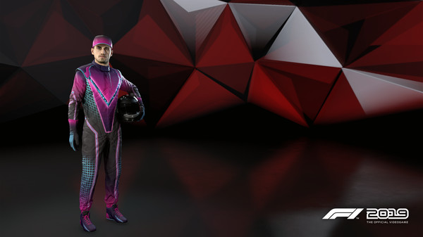 Скриншот №1 к F1 2019 Suit Stunning Violet